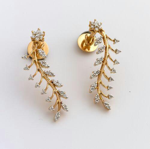 c54b30f0b Fancy golden earring designs