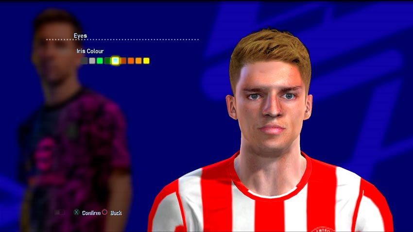Marcus Forss Face For PES 2013