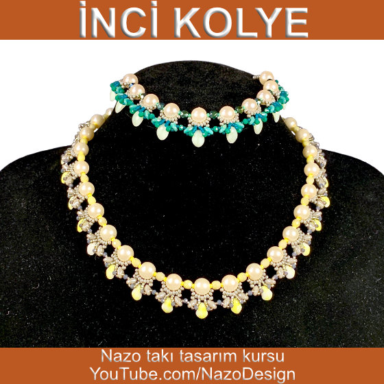 Nazo Jewelry Design Course   How to Make a Pearl Necklace