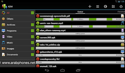 Fastest files download manager for android