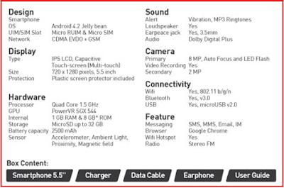 New Smartfren Andromax Z