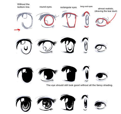 How to Draw Manga Eyes Featured Image