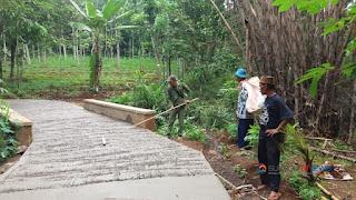 akses jalan desa