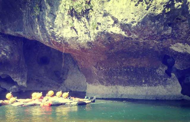 Cave Tubing Kali Suci Gunung Kidul Yogyakarta