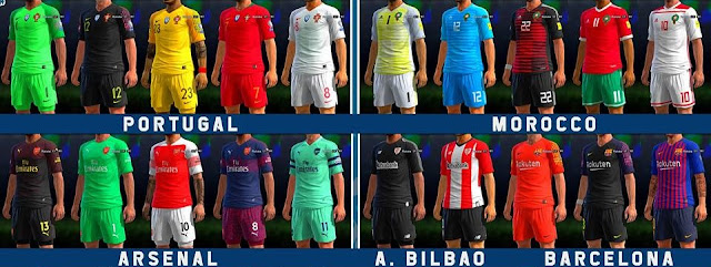 195bc993d PES 2013 Update Kits 2018 19 (29 May 2018 Update)