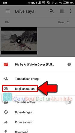 cara mengirim file video besar lewat gmail