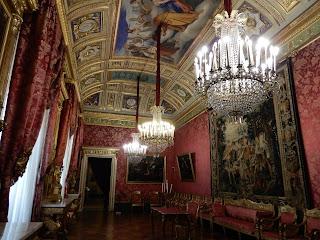 ジェノヴァのMuseo di Palazzo Realeの広聴の間
