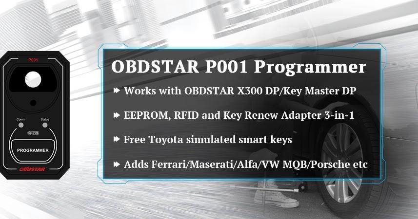 OBD2Store com Car Diagnostic Center: OBDSTAR P001 Programmer