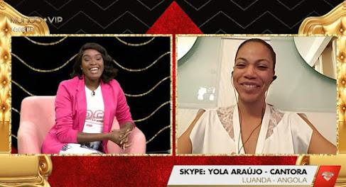 Yola Araújo, revela o motivo de ter solicitado a saída na lista para melhor cantora angolana | Paulo News