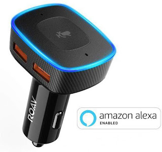 Roav VIVA Alexa for car charger, Navigation, Hands-Free Calling and Music