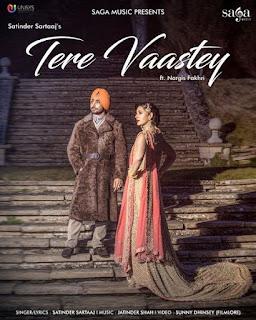Tere Vaastey Lyrics – Satinder Sartaaj Song