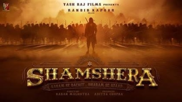 Shamshera movie 2020