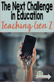 "As teachers, even if we swore we wouldn't, we sometimes find ourselves saying, ""Kids these days!"" And with good reason. Generations change, and more rapidly than ever before with rapid technological shifts. Check out this introduction to a new series on reaching the latest generation--Gen Z. Click through, my fellow educators, and we'll strategize together."
