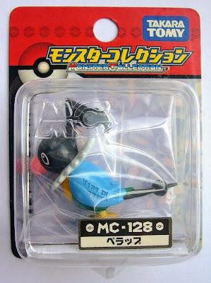 Chatot figure Tomy Monster Collection MC series