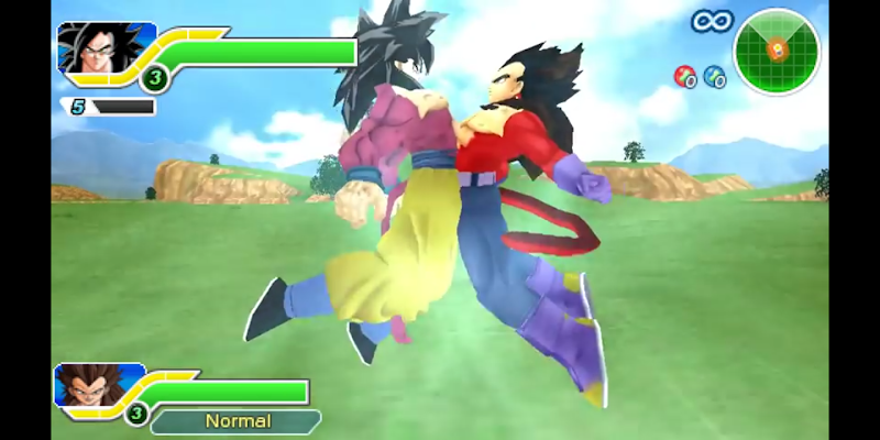 Download DBZ TTT SSJ 4 Fusion Mod for PPSSPP on Android