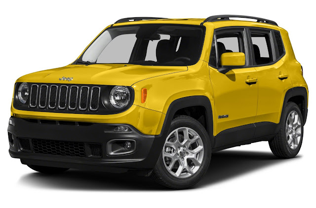 Front 3/4 view of 2016 Jeep Renegade Sport 4X4