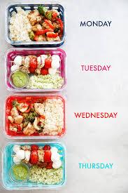 Meal Prep Information