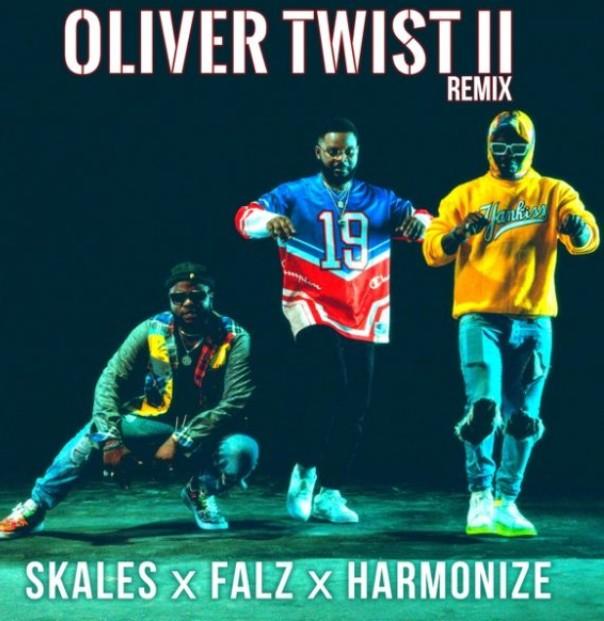 (Music + Video) Skales Ft. Falz, Harmonize – Oliver Twist (Remix)  (Mp3/Mp4 Download)