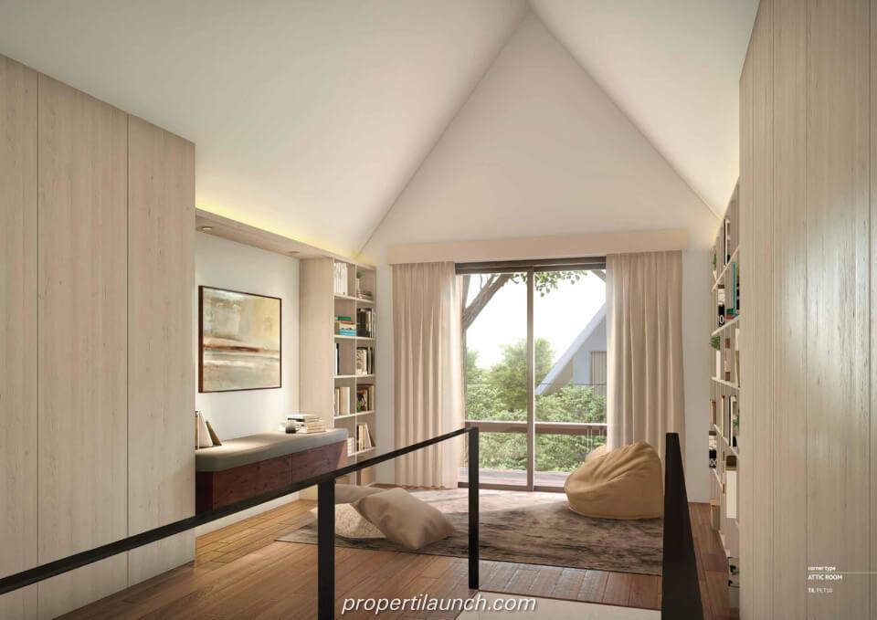 Interior Design Rumah Cluster Caelus Tipe 8