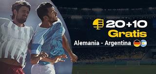 bwin promo Alemania vs Argentina 9-10-2019