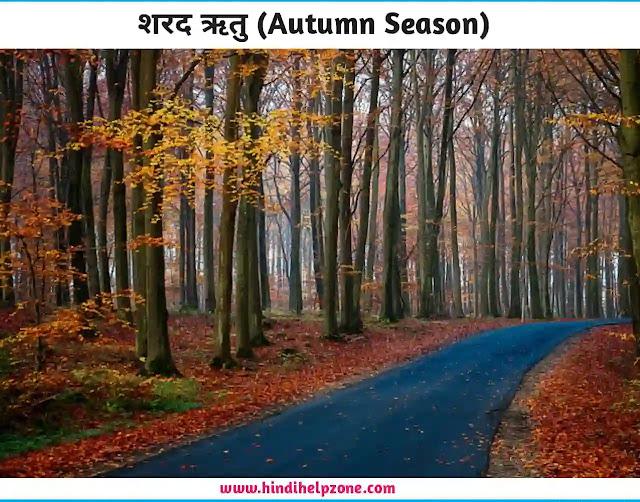 Rituo Ke Naam - 6 seasons name in hindi-english - (ऋतुओं के नाम)