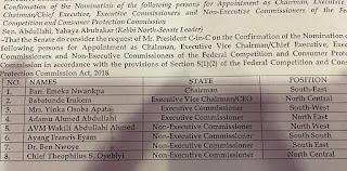 Senate Okays NPC, CPC