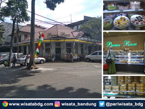 Toko kue Prima Rasa Jalan Kamuning Bandung