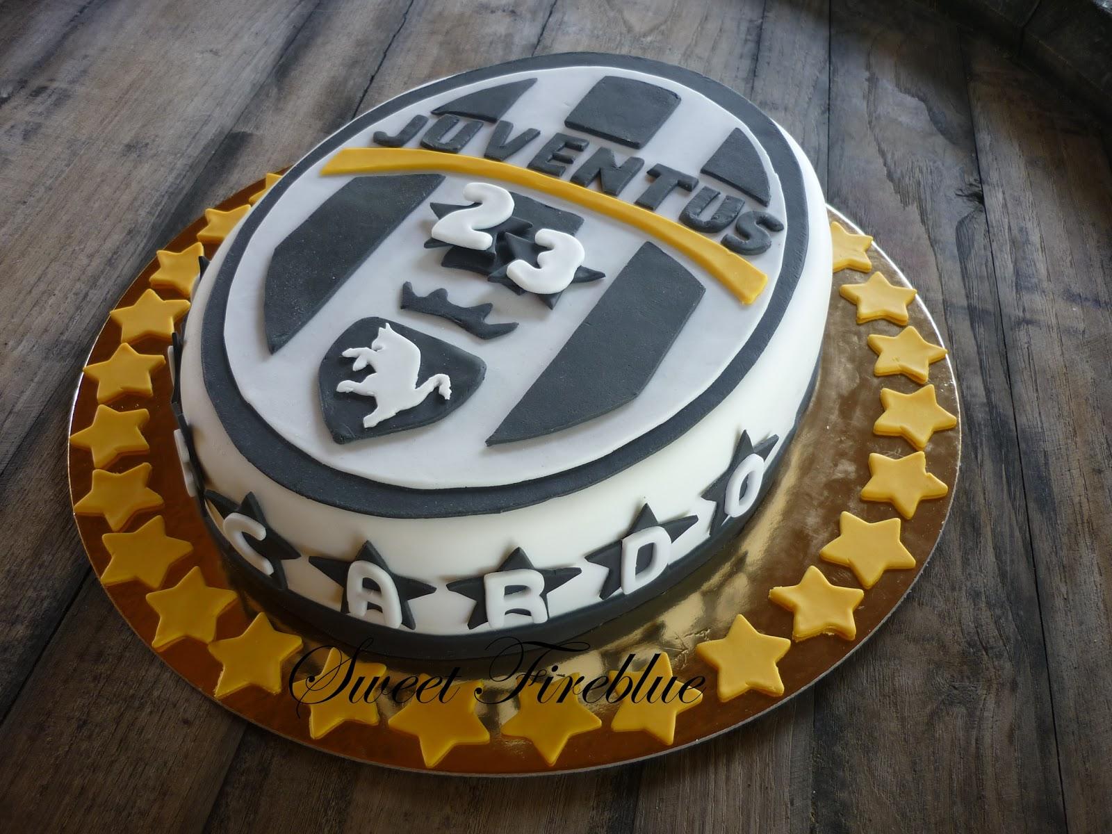 Sweet Fireblue Torta Juventusfinalmente eccola qua