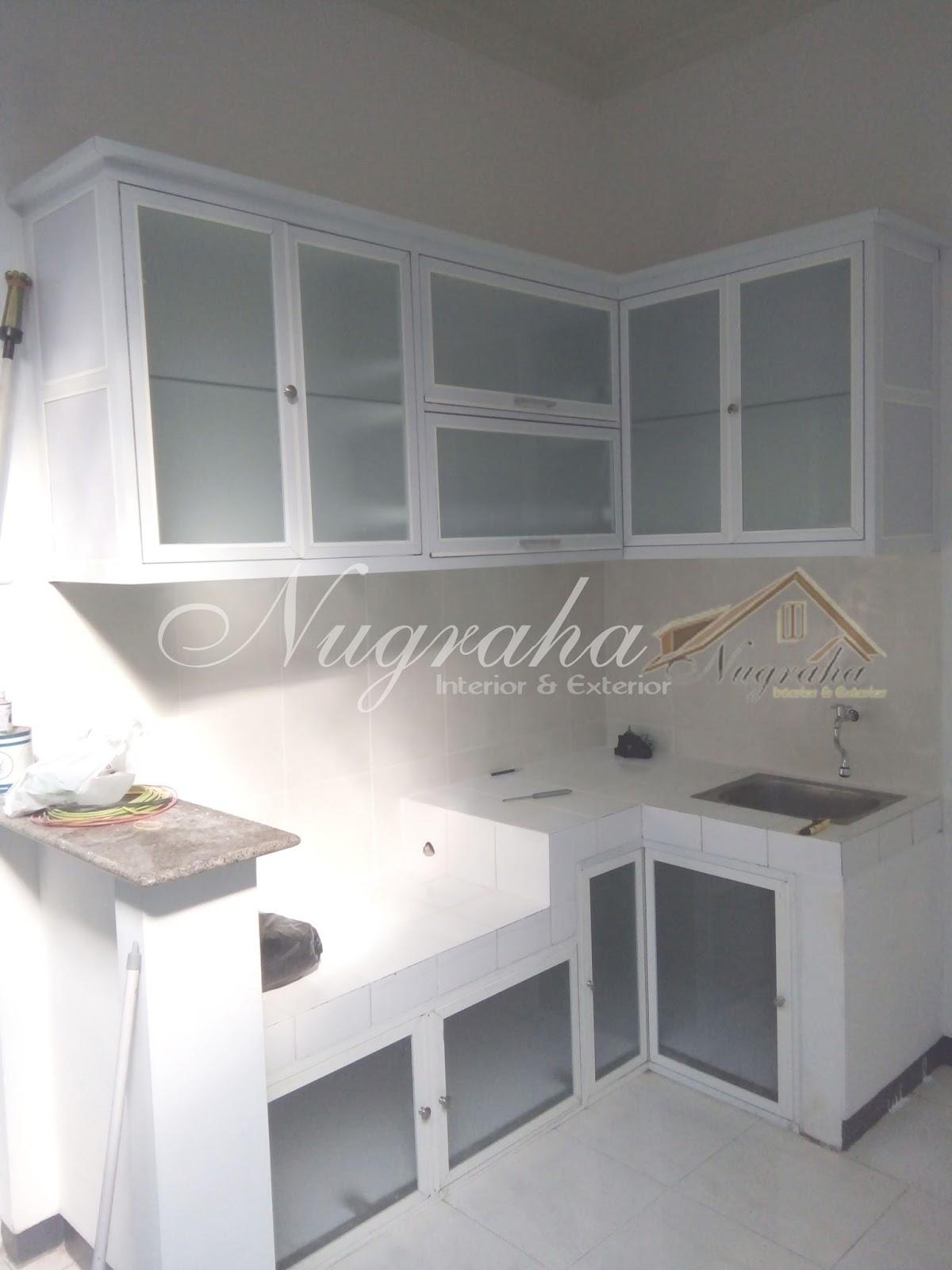 Kitchen Set Aluminium Putih Kitchen Ideas