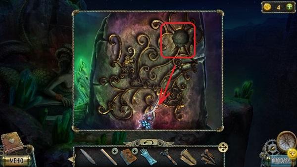 на надгробии вытаскиваем деталь в игре тьма и пламя 3 темная сторона