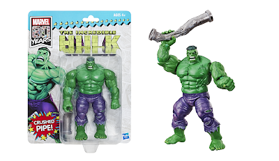 San Diego Comic-Con 2019 Exclusive Marvel 80th Anniversary The Incredible Hulk Marvel Legends Action Figure in Retro Packaging by Hasbro