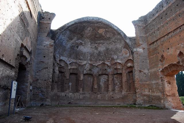 salle des philosophes Villa Hadrina