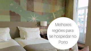 Cama de hotel no Porto