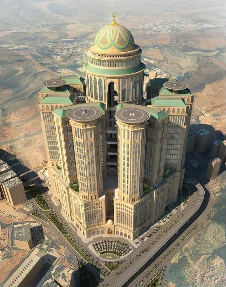 Abraj Kudai Makkah, Menjadi Hotel Terbesar Di Dunia