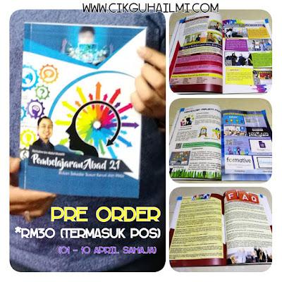 Pre Order Buku Pembelajaran Abad 21 Cikgu Hailmi