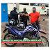 Prefeito De Fátima Entregou Uma motocicleta-VTR para Guarda Municipal  para utilização nas rondas na Cidade.