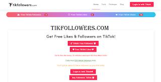 Tikfollowers.com Free followers and likes tiktok form tikfollowers com