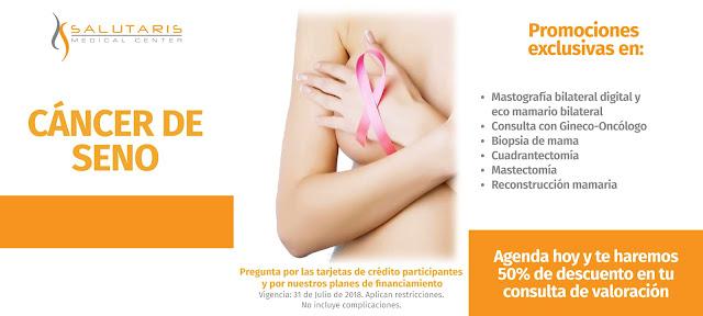 Promociones para Cancer de Seno