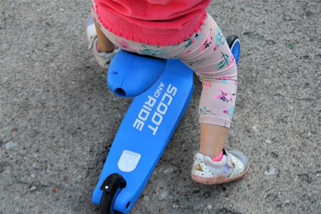 Hulajnoga jeździk 2w1 blue SCOOTANDRIDE (SR 96202)