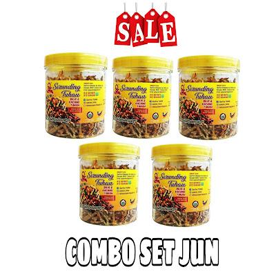COMBO SET JUN | SERUNDING TUHAU CRUNCHY