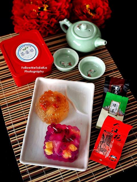 Cha Po Liang Fresh Homemade Jelly Mooncake