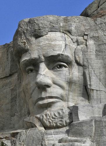 Abraham Lincoln Monte Ruhmore Monumento Naional, Dakota, USA