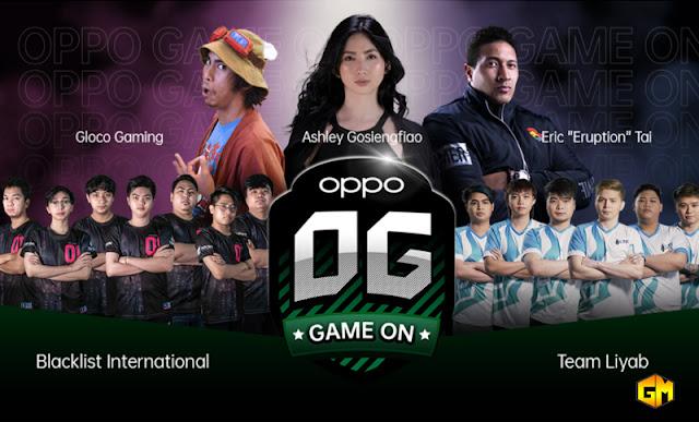 OPPO Gaming Esports Gizmo Manila