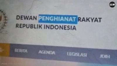"""Ketika Website DPR Diretas Jadi """"Dewan Penghianat Rakyat"""""""