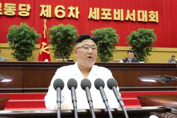 kim jong un opening speech at sixth sell secretaries conference