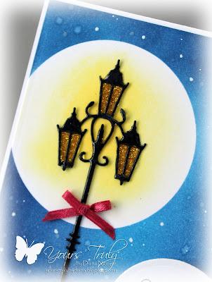 Diana Nguyen, poppystamps, christmas, lamp