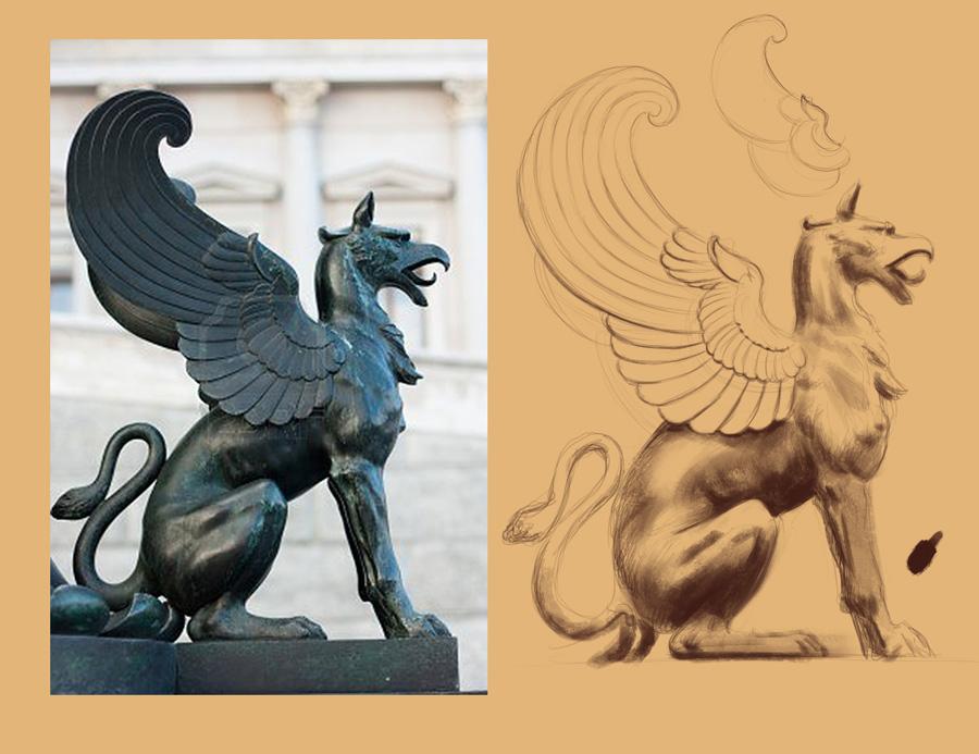 [Image: griffinSculptureWings.jpg]