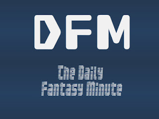The Daily Fantasy Minute Week 1 DFS Value
