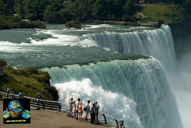 03. නයගරා දියඇල්ල, එක්සත් ජනපදය ( Niagara Waterfalls, United States )