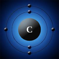 Karbon atomu elektron modeli
